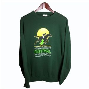 New Jersey Festival Green Sweatshirt Size XL